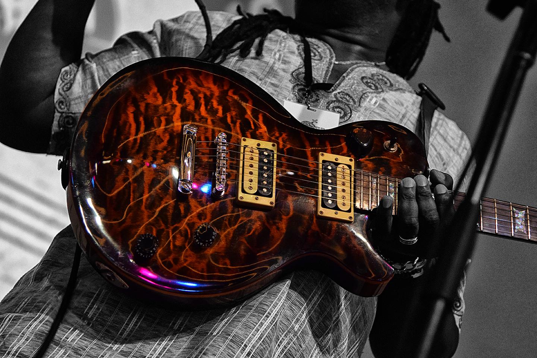 The Original Wailers Chet Samuels Guitar