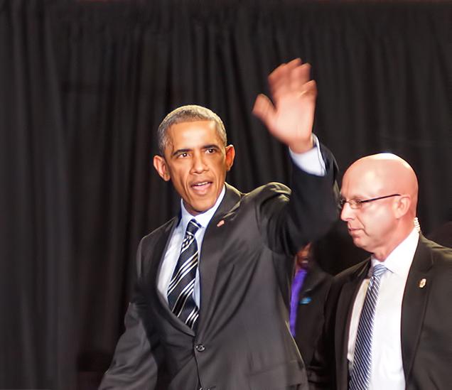 Event Photographer President Obama Copernicus Center Chicago Darkroom Joe's Photography