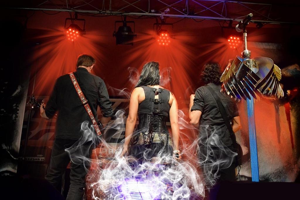 Chicago Concert Photographer Phosphene Band Rock The Badges