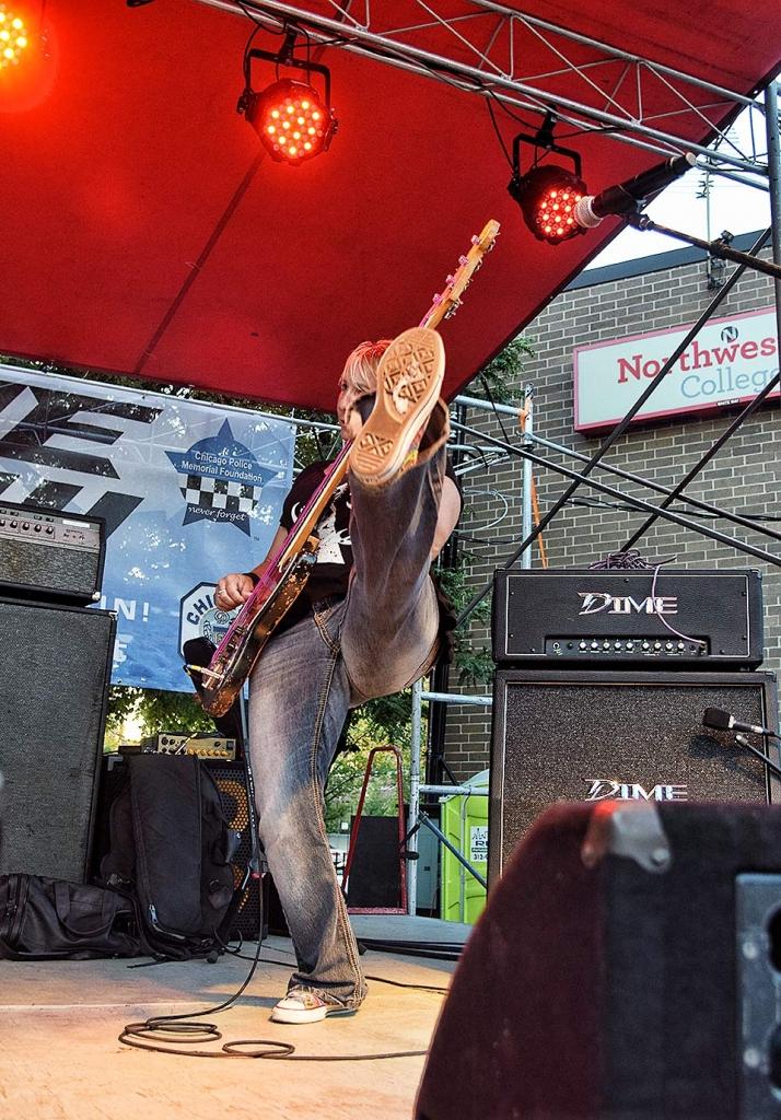 Jenny Rockis Rock The Badges Chicago Darkroom Joe's Photography