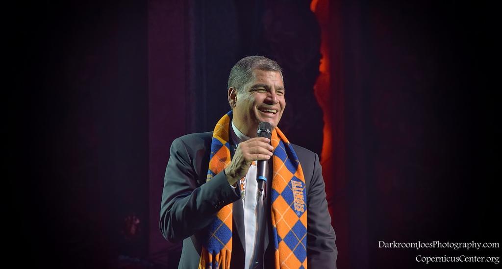 Darkroom Joe's Photography President of Ecuador Rafael Correa Copernicus Center Event Photographer-20