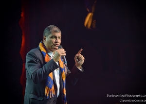 Darkroom Joe's Photography President of Ecuador Rafael Correa Copernicus Center Event Photographer-21