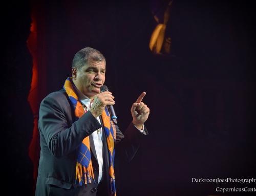President of Ecuador Rafael Correa