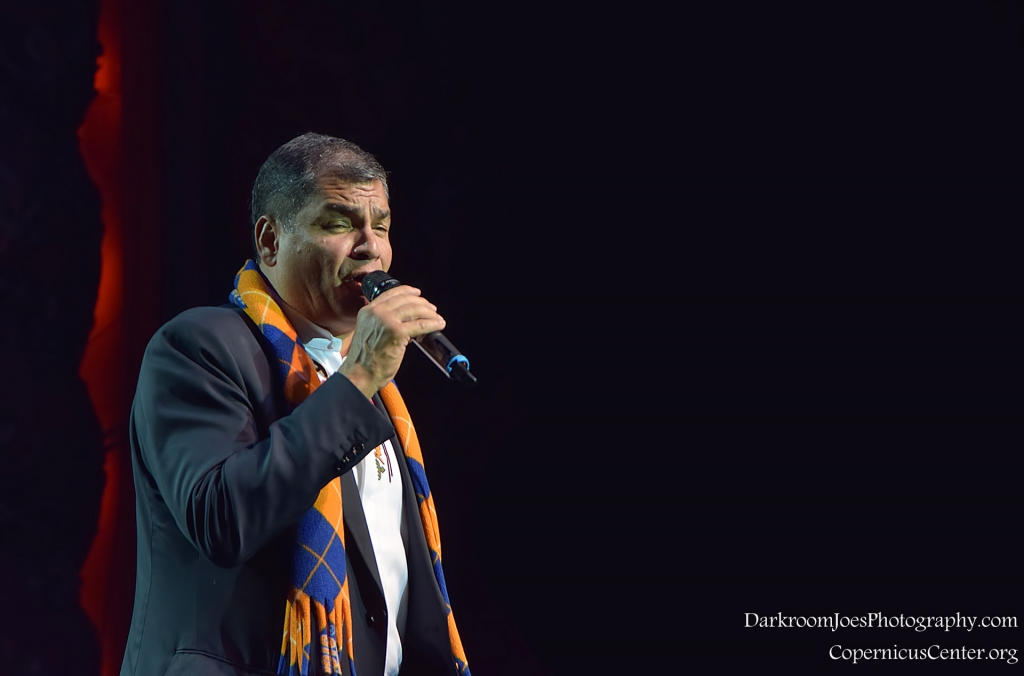 Darkroom Joe's Photography President of Ecuador Rafael Correa Copernicus Center Event Photographer-22
