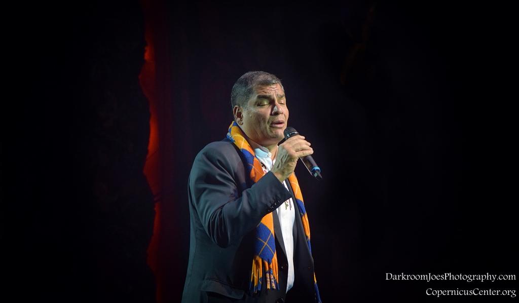 Darkroom Joe's Photography President of Ecuador Rafael Correa Copernicus Center Event Photographer-23