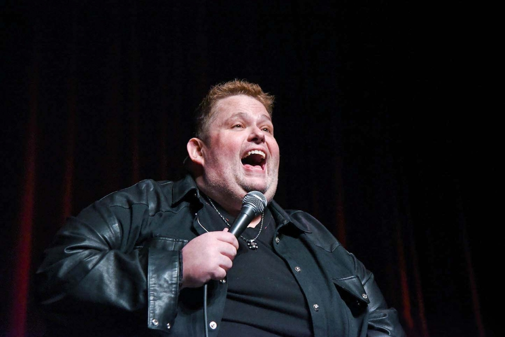 Comedian Ralphie May in Chicago Copernicus Center